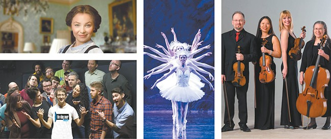 Improv, ballet and classical music are all part of the first TheaterFest.