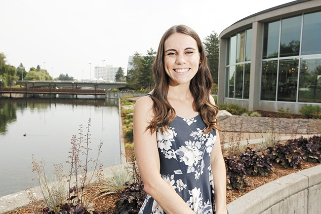 """Lauren Schubring: """"I feel my happiest when I'm really involved with the community."""""""