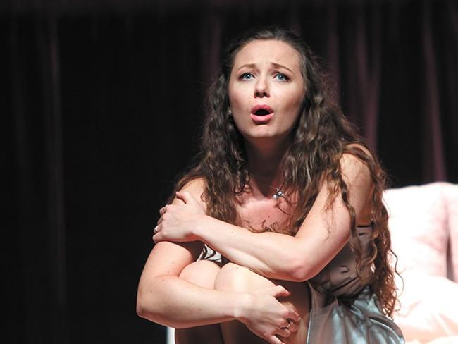 Madison Leonard performing in Romeo et Juliette. - SCOTT SUCHMAN PHOTO