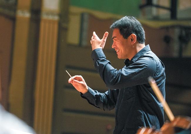Morihiko Nakahara will wield the baton this weekend. - COURTESY OF SPOKANE SYMPHONY