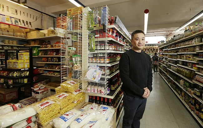 Van Chiu has made Best Asian Market one of the big draws in the Sprague Union District. - YOUNG KWAK