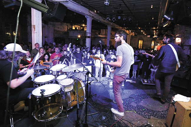 Aside from the paper, the Inlander organizes several community events, including Inlander Restaurant Week, Winter Party and Volume Music Festival. - YOUNG KWAK
