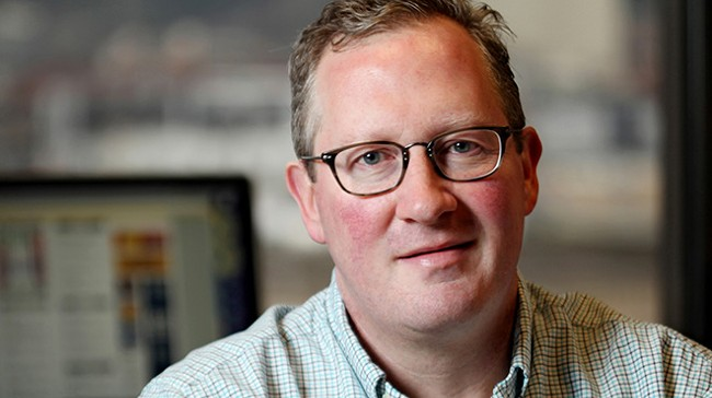 Publisher Ted S. McGregor Jr.