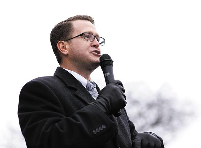 Rep. Matt Shea - YOUNG KWAK