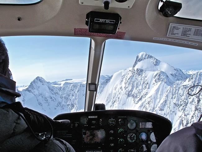 Scenes from Thompson Pass in the Chugach Mountains near Valdez, Alaska. - HOWARD STODDARD PHOTO