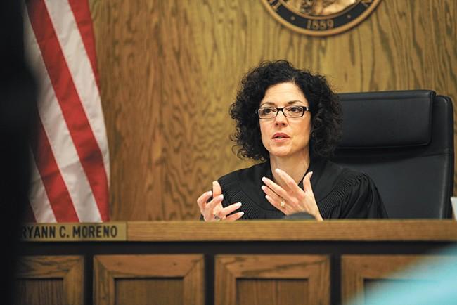 Spokane Superior Court Judge Maryann Moreno - YOUNG KWAK