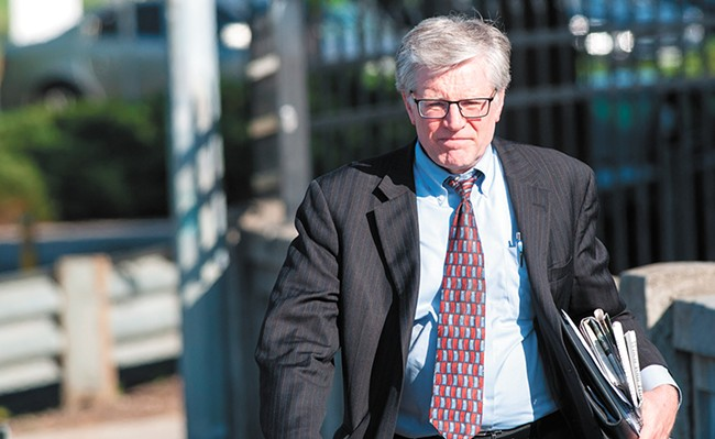 City Attorney Mike Ormsby says that technology had dramatically increased the number of public records — and has made for some complicated legal decisions. - DANIEL WALTERS PHOTO