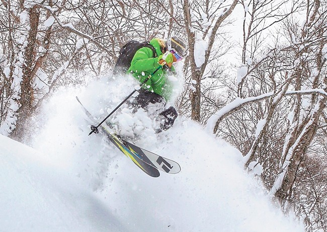 Bottomless snow in Japan. - HOWARD STODDARD PHOTOS