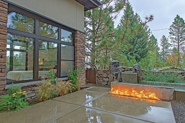 A passive house on Spokane's South Hill features rooms with an abundance of triple-pane windows. - DON HAMILTON PHOTO