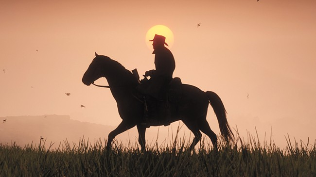 Red Dead 2 barely fits in its cowboy boots.
