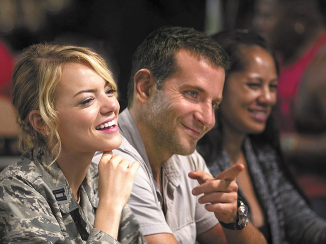 Emma Stone and Bradley Cooper are just one of the love stories in Aloha.