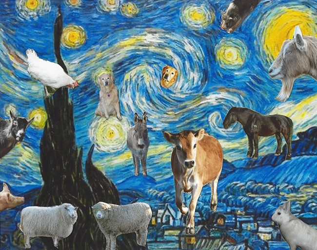 Support art and animals at a July 18 benefit.