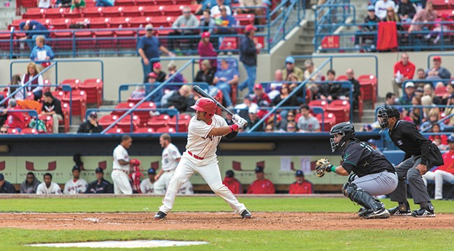 The Spokane Indians play at home nearly every week in the summer.