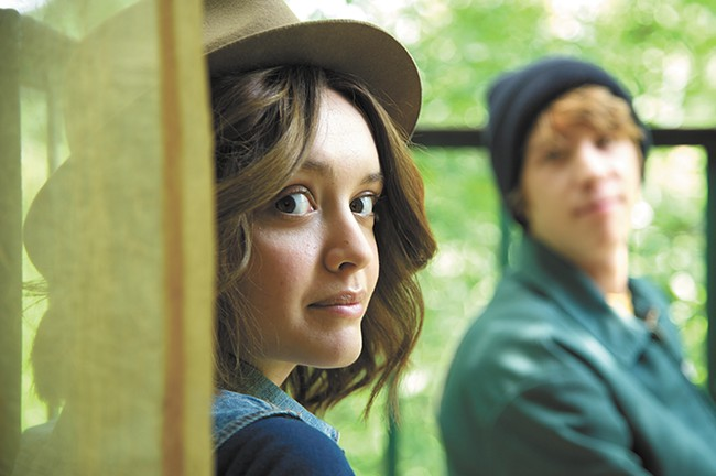 Olivia Cooke plays Rachel, the Dying Girl.