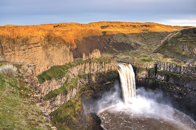 A small campground is available at Palouse Falls. - RON TREES