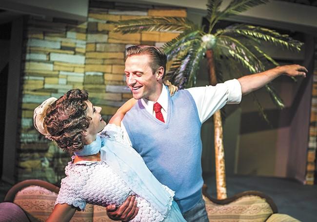 Mallory King and John David Scott star in Singin' in the Rain. - BRETT FONTANA