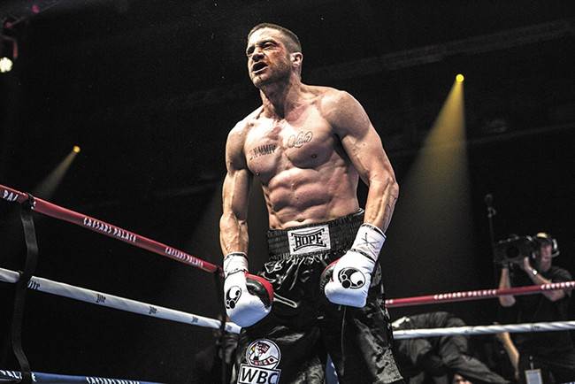 Jake Gyllenhaal takes a swing at an Oscar in Southpaw.