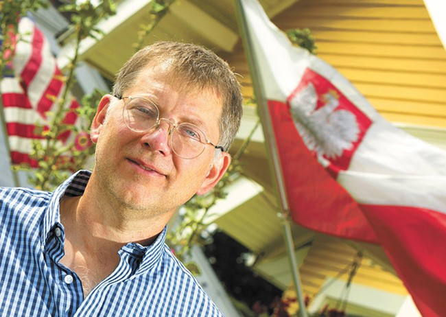 Robert Sloma transplanted a little bit of Poland to Spokane. - YOUNG KWAK