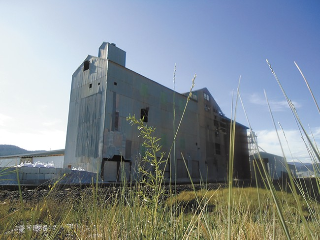 The magnesite plant closed for good in 1968. - CHEY SCOTT