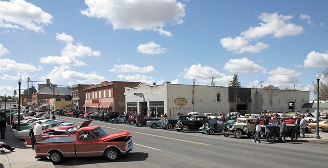 A car show in Harrington. - KAREN ROBERTSON