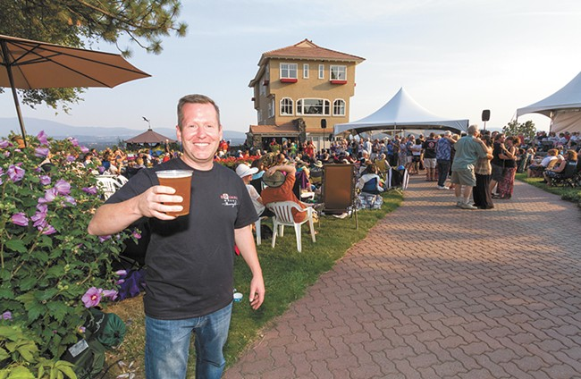 John Mielke opened one of Spokane's newest breweries, Square Wheel Brewing, this month. Several others are slated to open soon. - JEFF FERGUSON