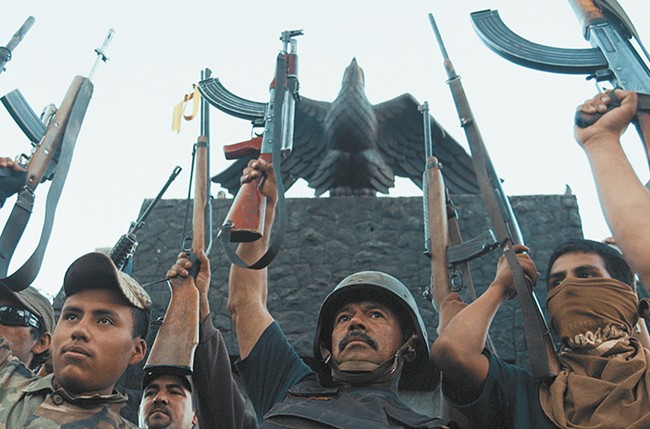 Director Matthew Heineman investigates the drug war on the southern border in Cartel Land.