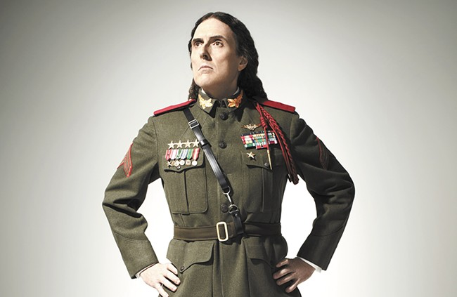 """Weird Al"" Yankovic plan to cram as much as possible into his two-hour set Sunday."