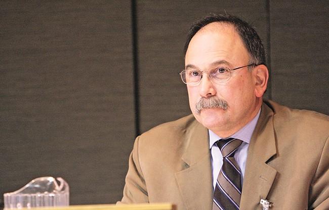 School board member Rocky Treppiedi laments the loss of instructional time