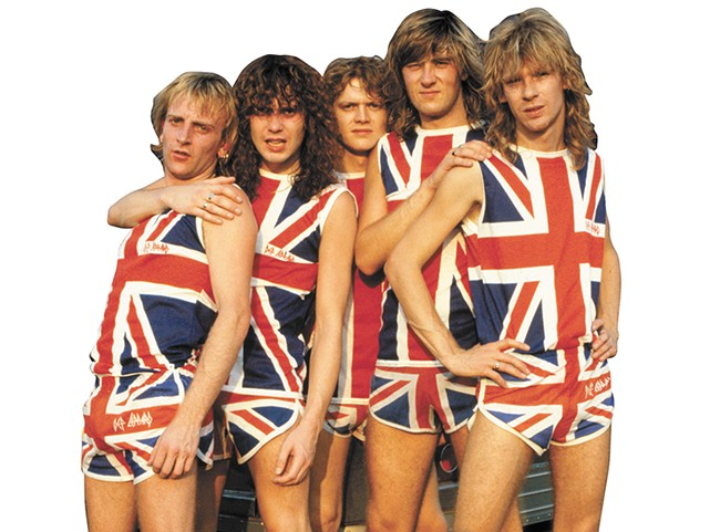 Def Leppard, circa 1983.