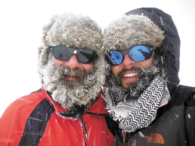 Bill Hughes (left) and his son Will spent a month atop Mt. Ararat — twice — searching for Noah's Ark.