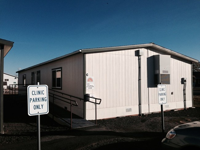 The new CHAS Health clinic in Cheney.