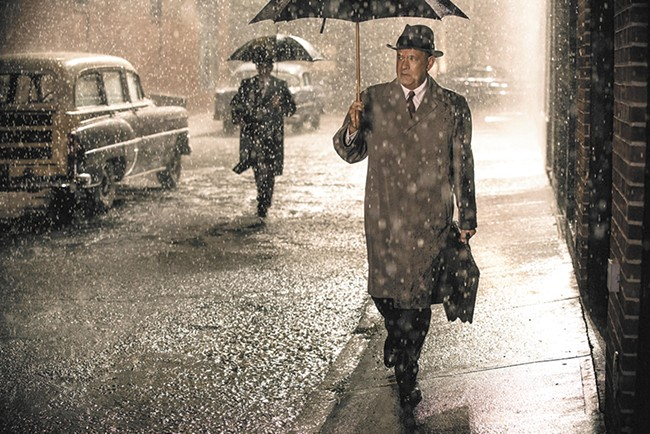 Tom Hanks' ability to make fundamental moral clarity and decency interesting is essential to Bridge of Spies.