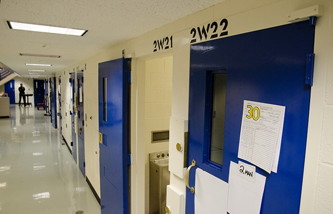 The regional criminal justice council is considering ways to alleviate overcrowding in Spokane County Jail.