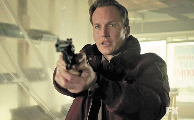 Patrick Wilson plays good-guy cop Lou Solverson in this season of Fargo.