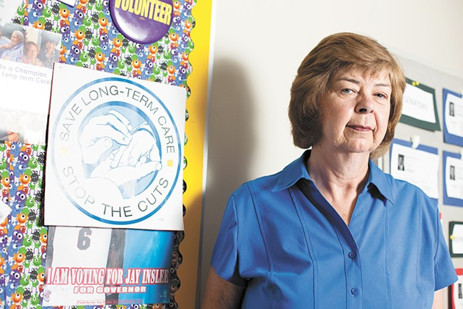 Susie Young, a home health care worker and executive board member of SEIU 775. - YOUNG KWAK