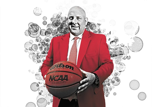 Eastern Washington University men's basketball coach Jim Hayford. - YOUNG KWAK