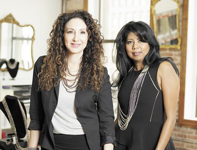 Millianna founders Arianna Brooke (left) and Sharmilla Persaud. - YOUNG KWAK