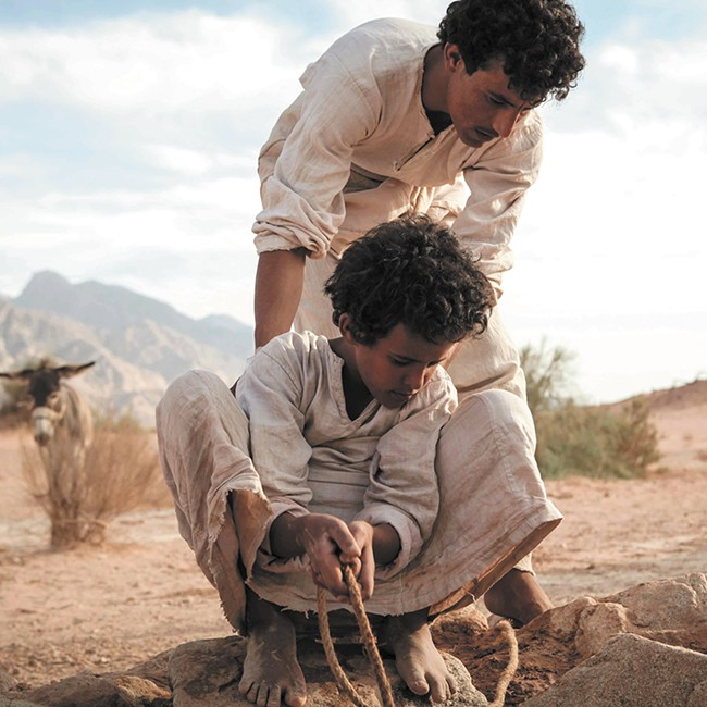 The young Jacir Eid shines as the title character in Theeb.