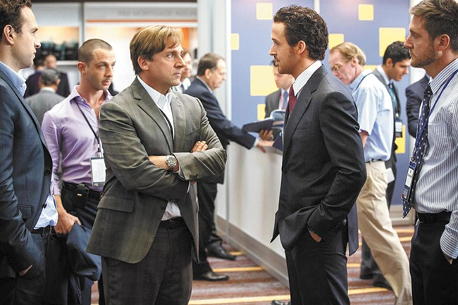 Steve Carell and Ryan Gosling dig deep into the mortgage crisis.