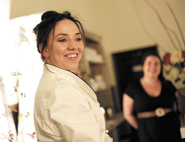 Chef Kristen Ward hopes to foster a culture of culinary appreciation with her supper club. - YOUNG KWAK