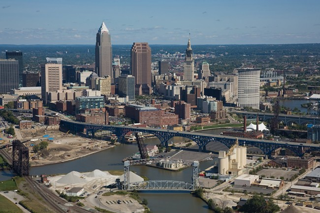 Cleveland, Ohio, will host the GOP convention this year.
