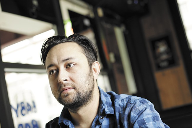 Jason McKee wrote and directed Marty, the Spokane native's third film to appear at SpIFF. - YOUNG KWAK