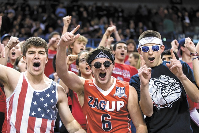 The culture surrounding Gonzaga basketball will be featured prominently in the new HBO docu-series about the team. - RYAN SULLIVAN