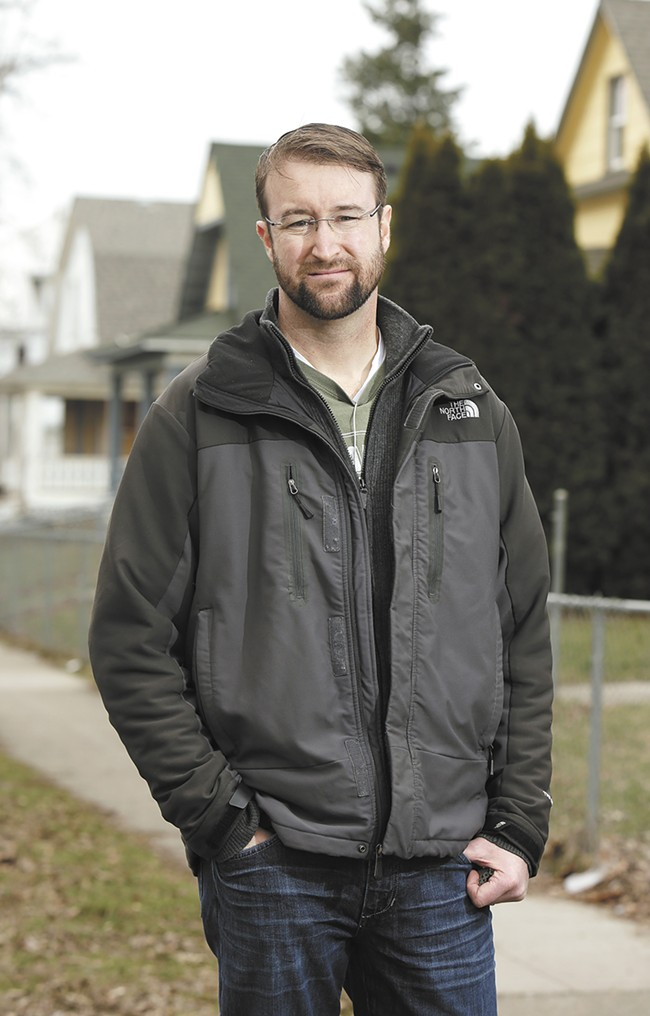 Neighborhood activist Keith Kelley is leading efforts to preserve housing in West Central. - YOUNG KWAK