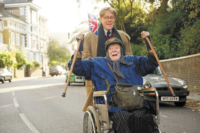 Maggie Smith shines in one of her most out-there roles to date.