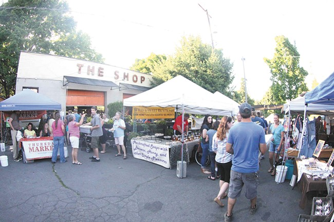 The South Perry market returns on May 5.