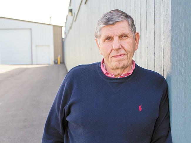 Dean Grafos says he's fighting for the silent majority in Spokane Valley. - JEFF FERGUSON