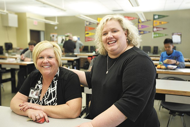 """Rogers Principal Lori Wyborney: """"When there's no food on the table... school really becomes a secondary thing."""" - YOUNG KWAK"""