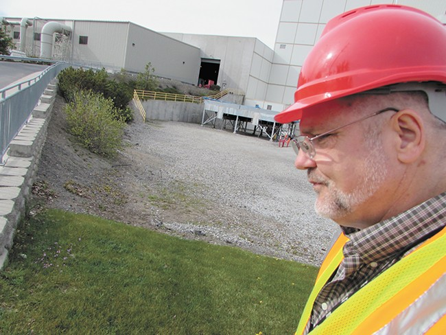 Chuck Conklin, Spokane's solid waste director, says that the Waste-To-Energy plant represents a much more environmentally friendly way of disposing of garbage than a landfill. - DANIEL WALTERS