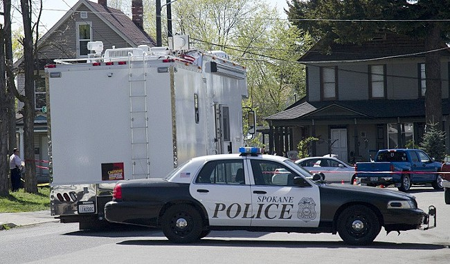 Spokane police were involved with three shootings in five days. - JACOB JONES PHOTO
